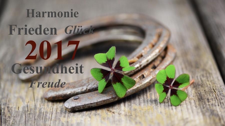 Einen guten Rutsch & ein gesundes neues Jahr